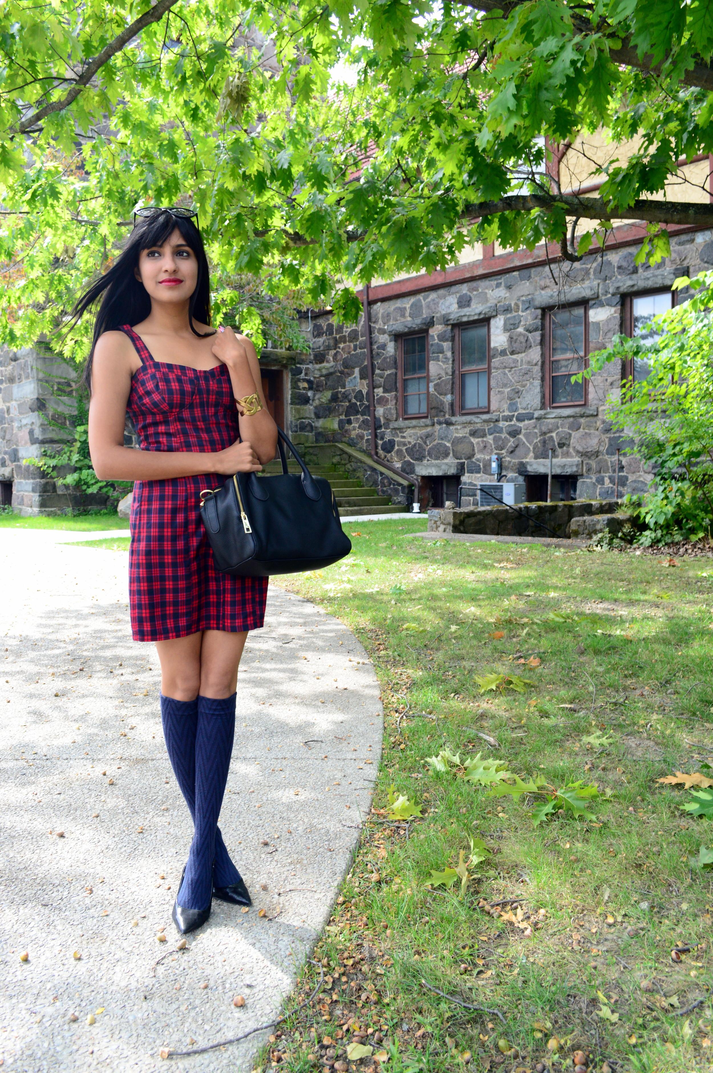 Tartan Dress 3