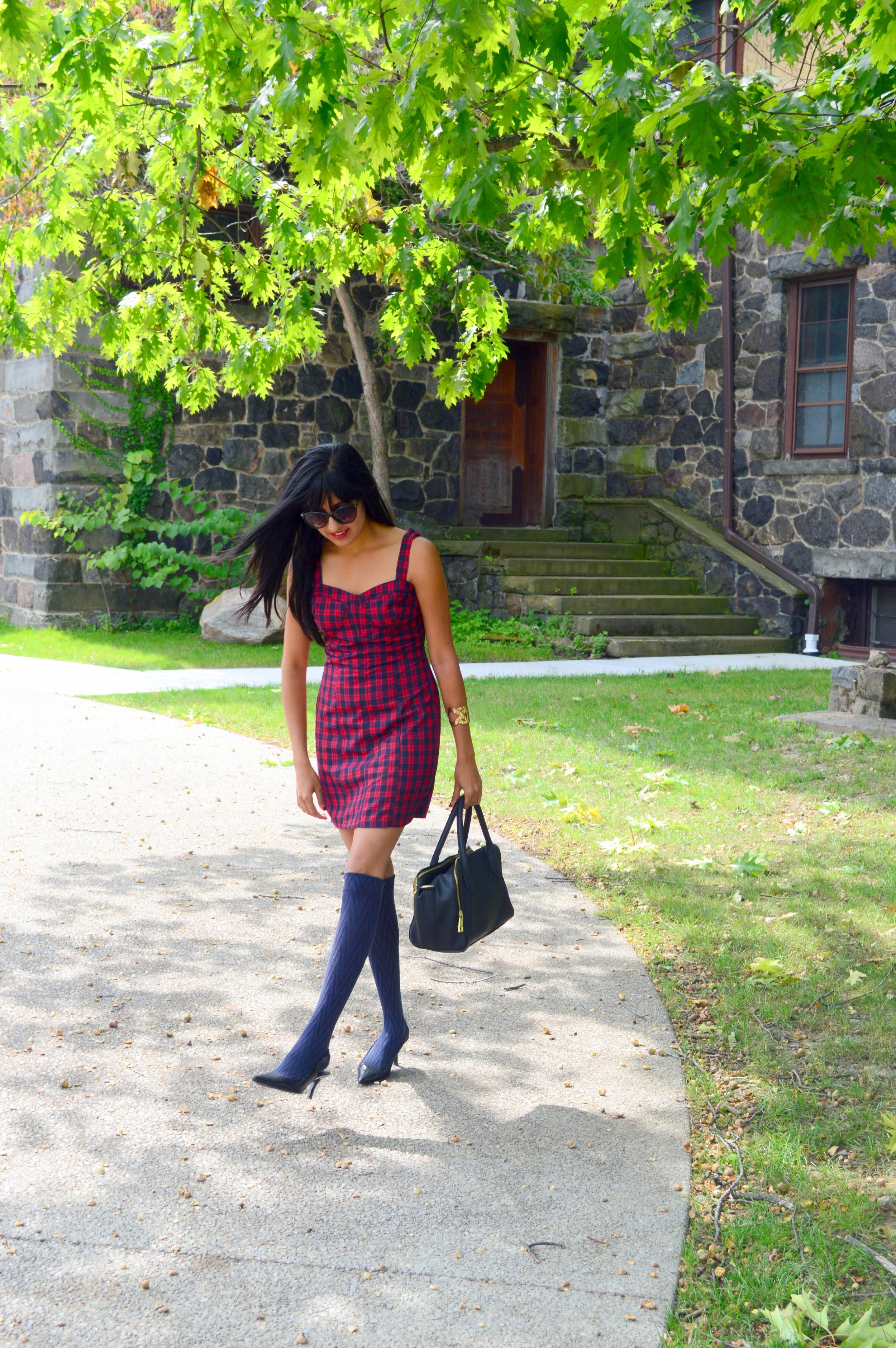 Tartan Dress 4