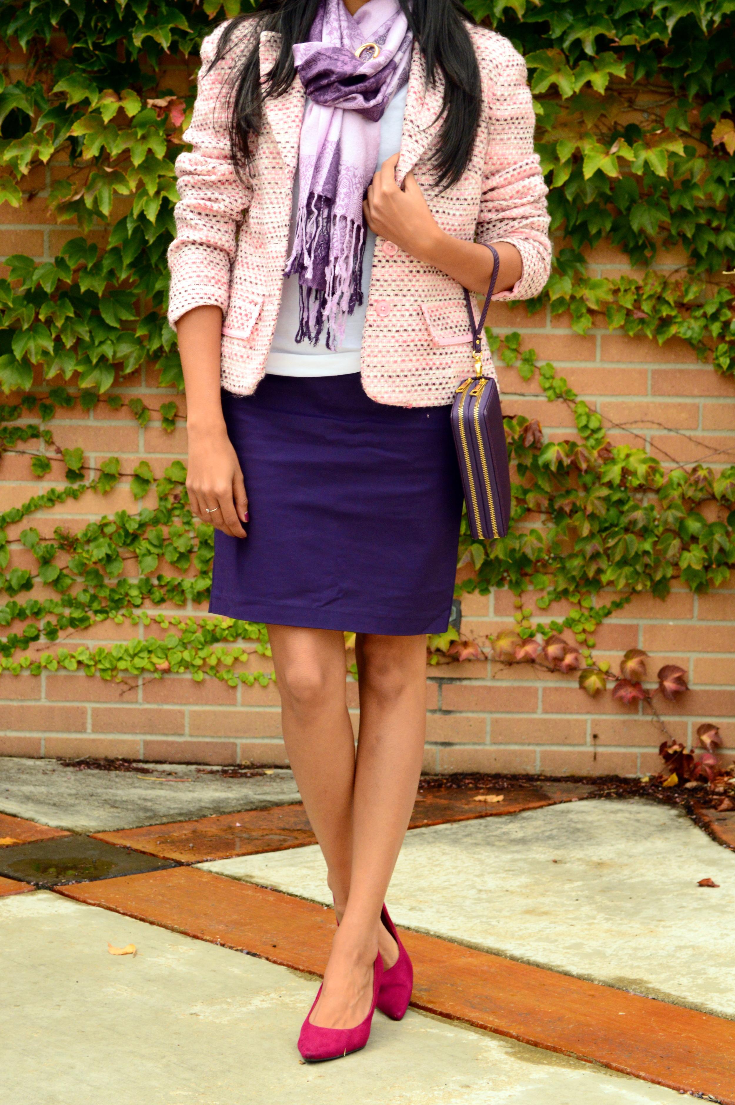 Pink Tweed 4
