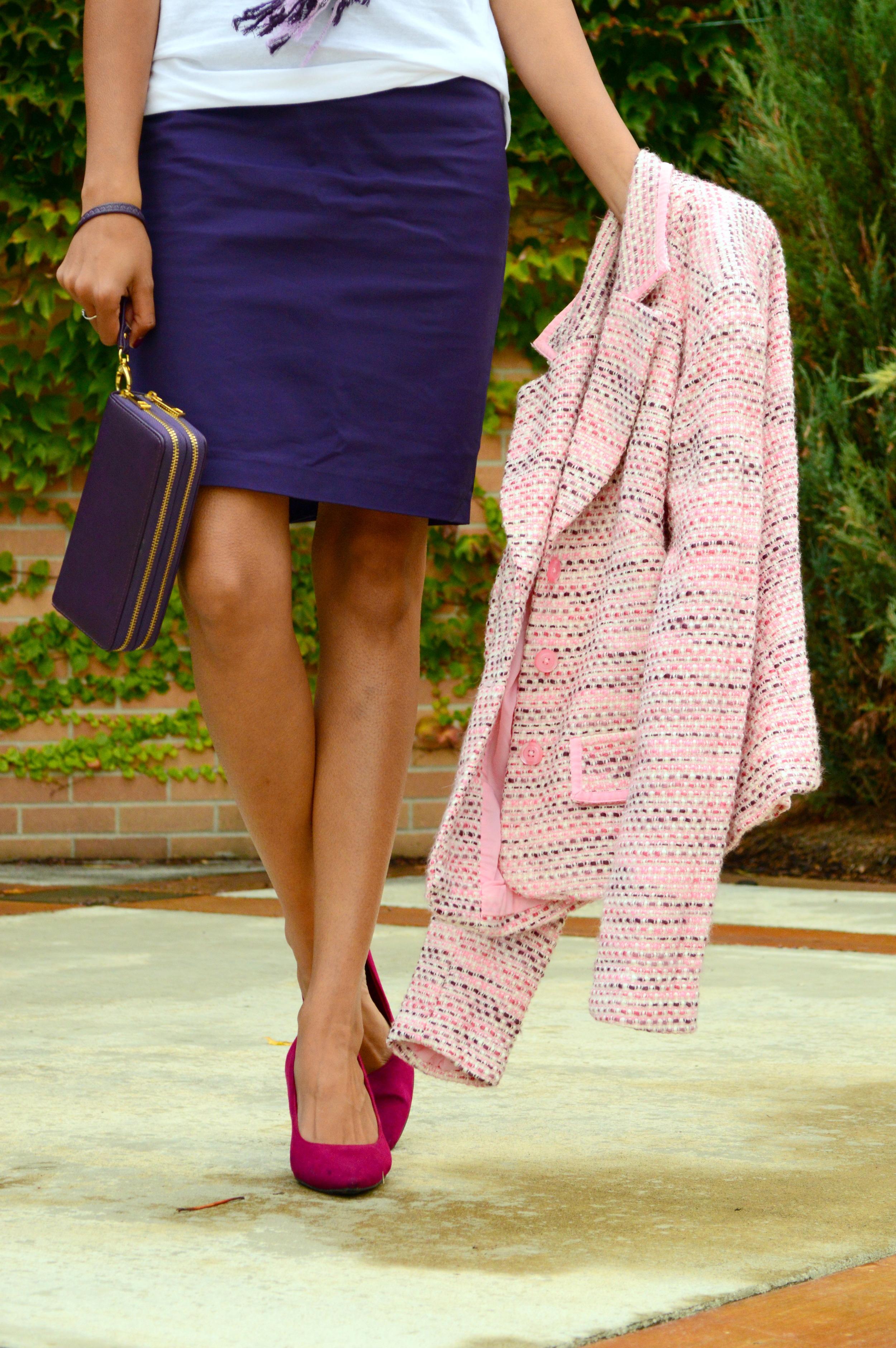 Pink Tweed 8