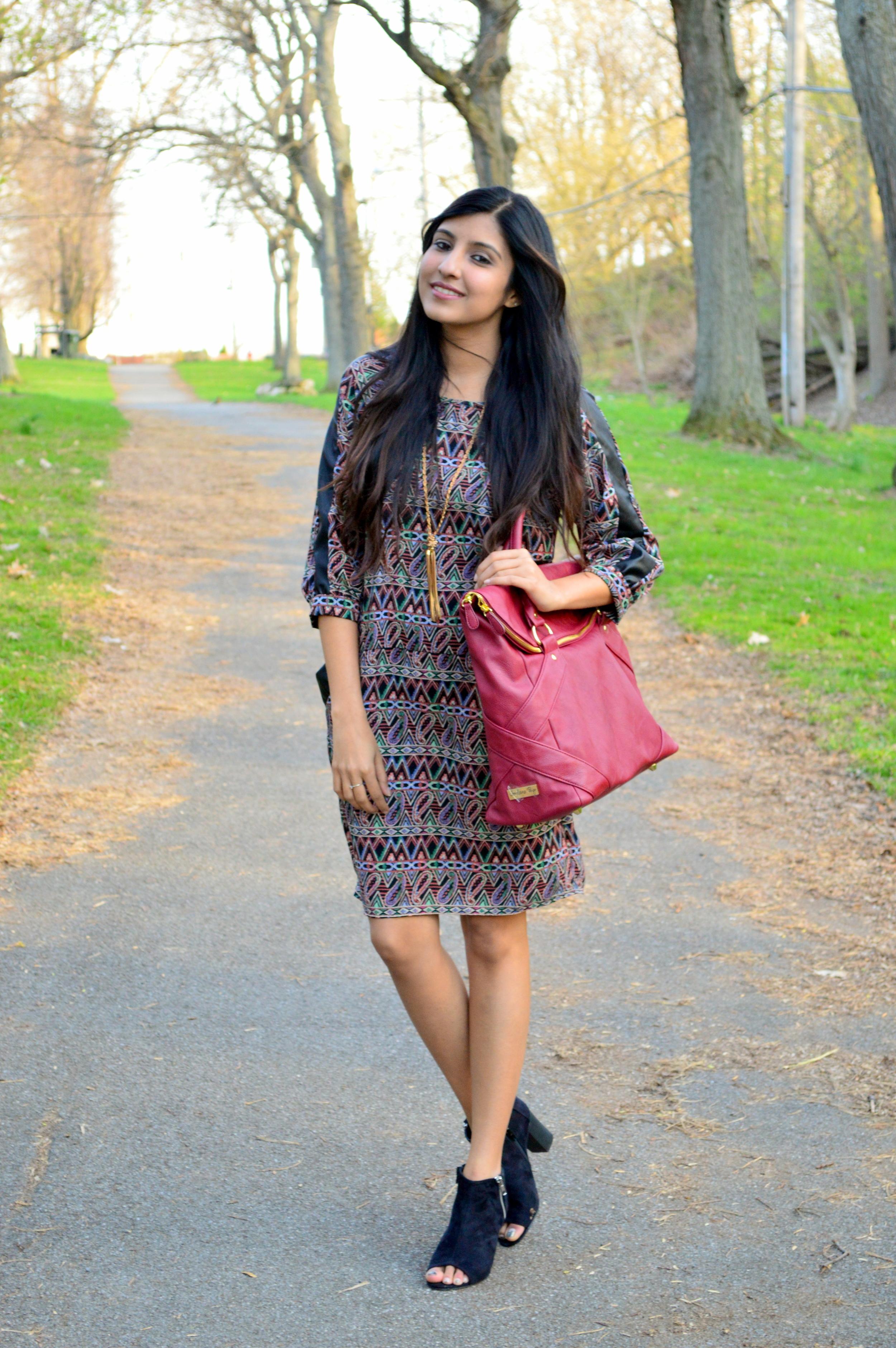 paisley shift dress 6