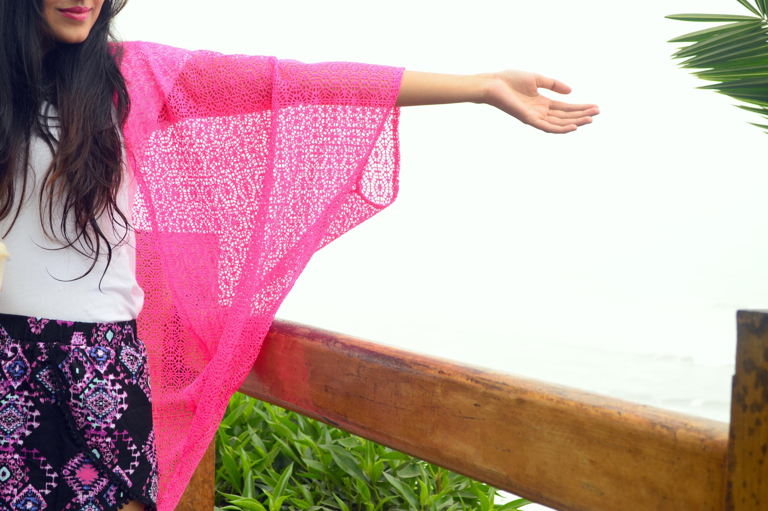 Crochet Kimono 4