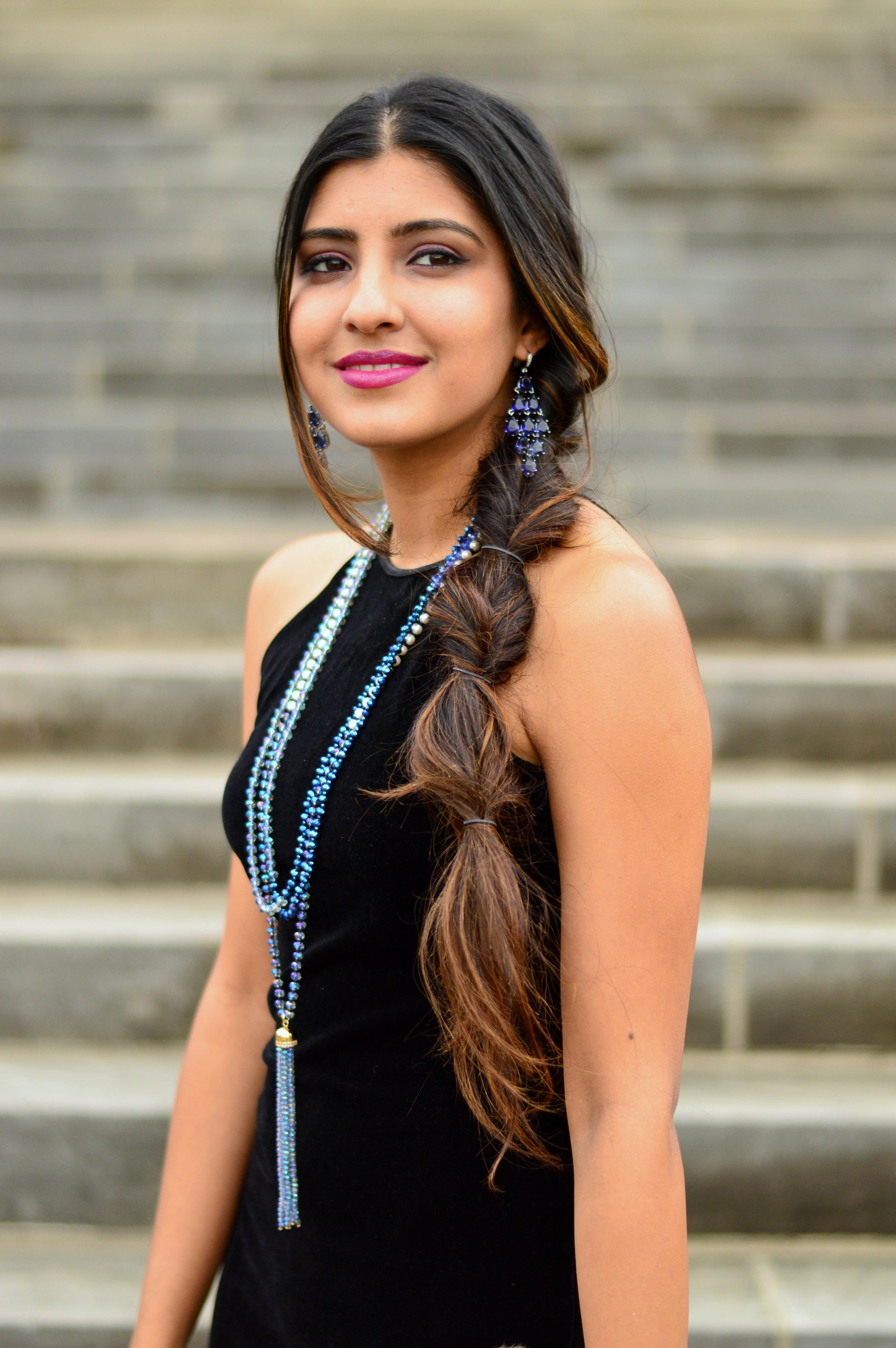Black velvet maxi dress-NYE outfit 2