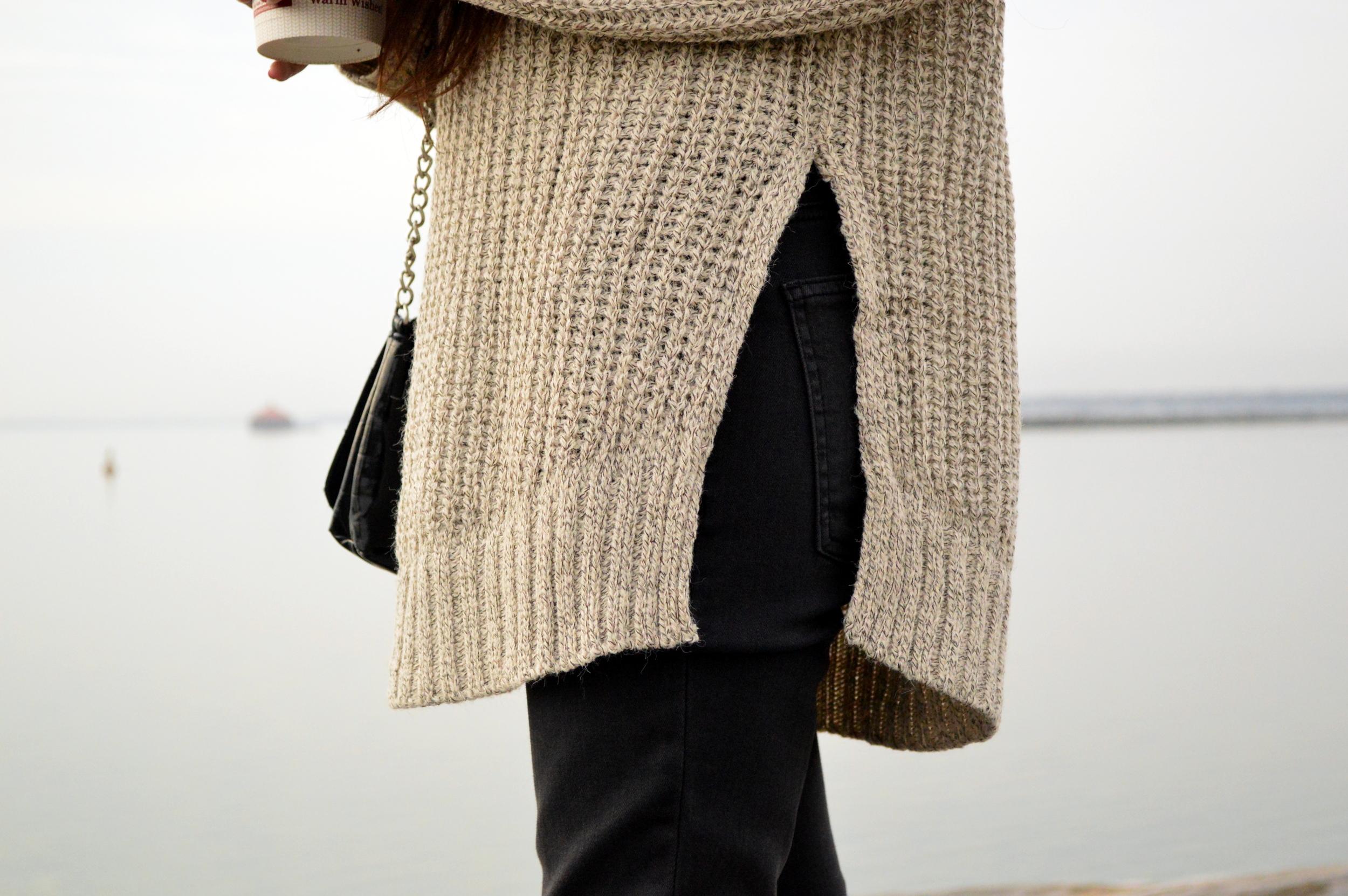 turtleneck sweater-casual weekend style-pom beanie 4