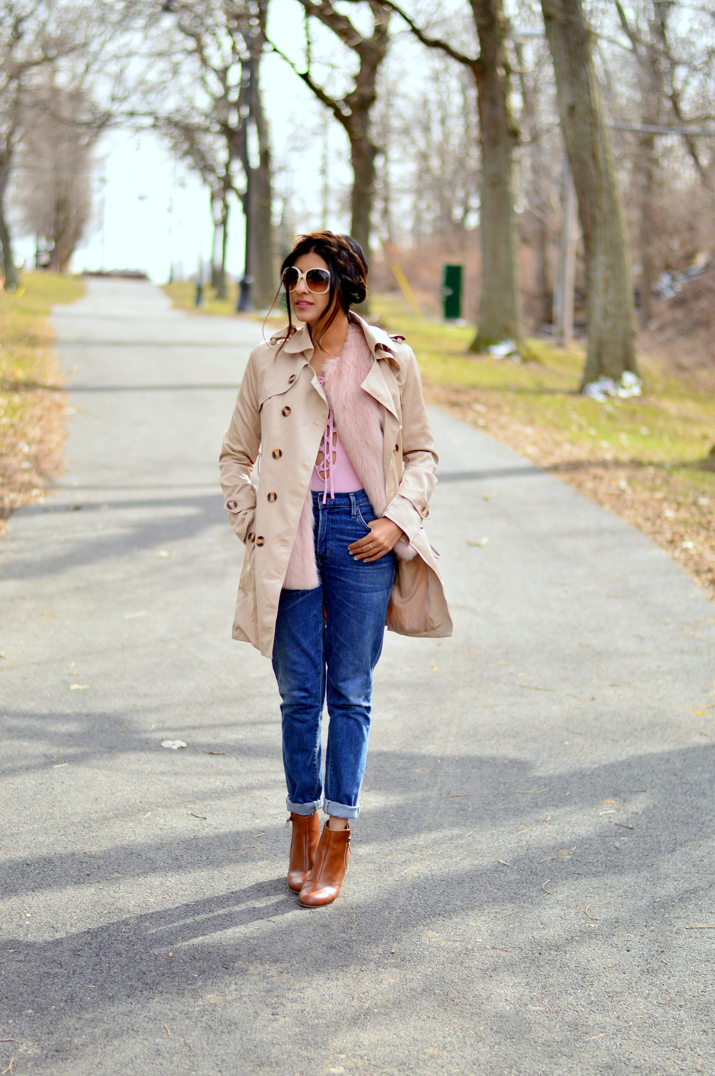 lace-up-bodysuit-trench-coat 1