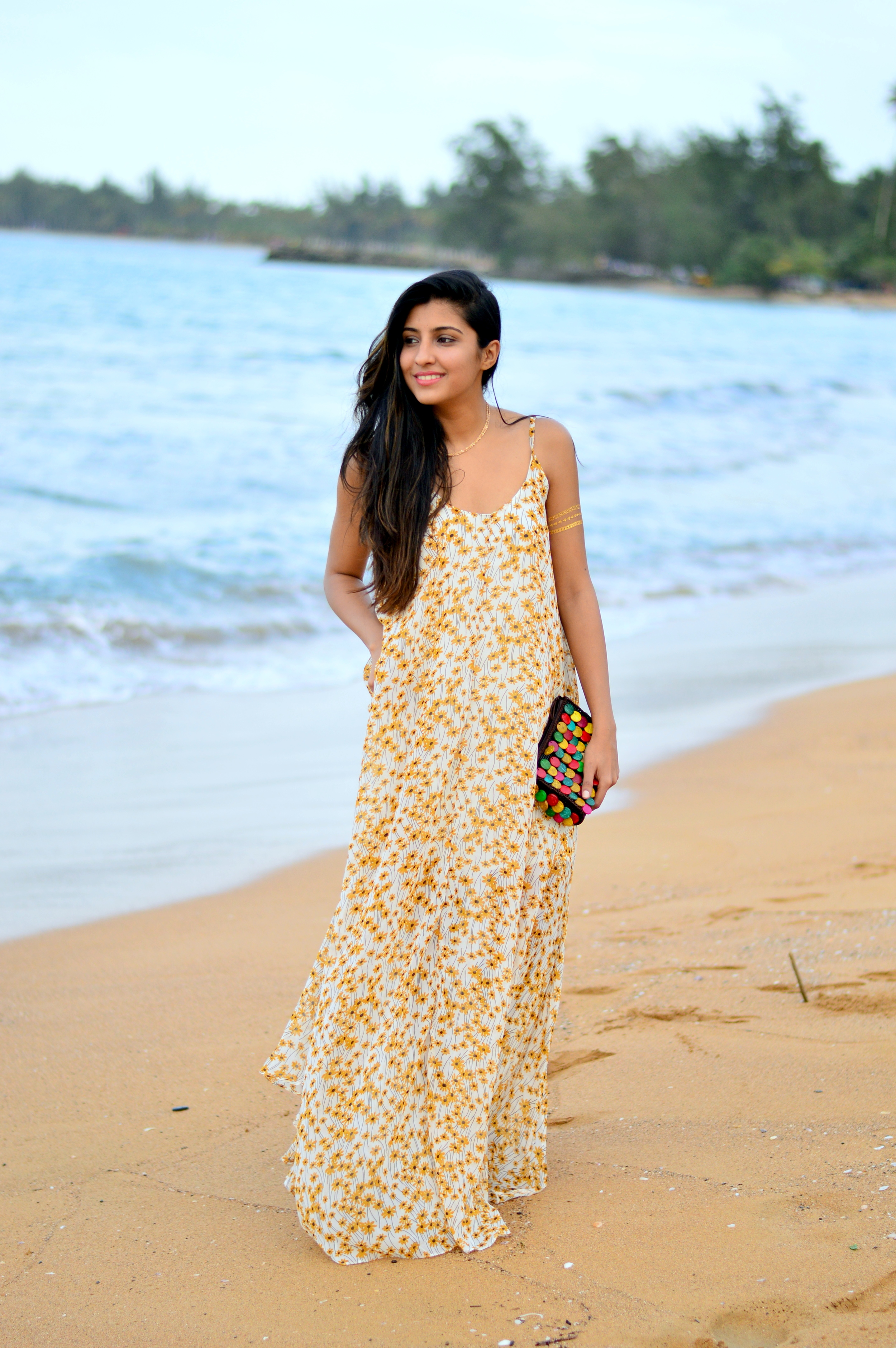 floral-maxi-dress-beach-vacation-style-blogger 2