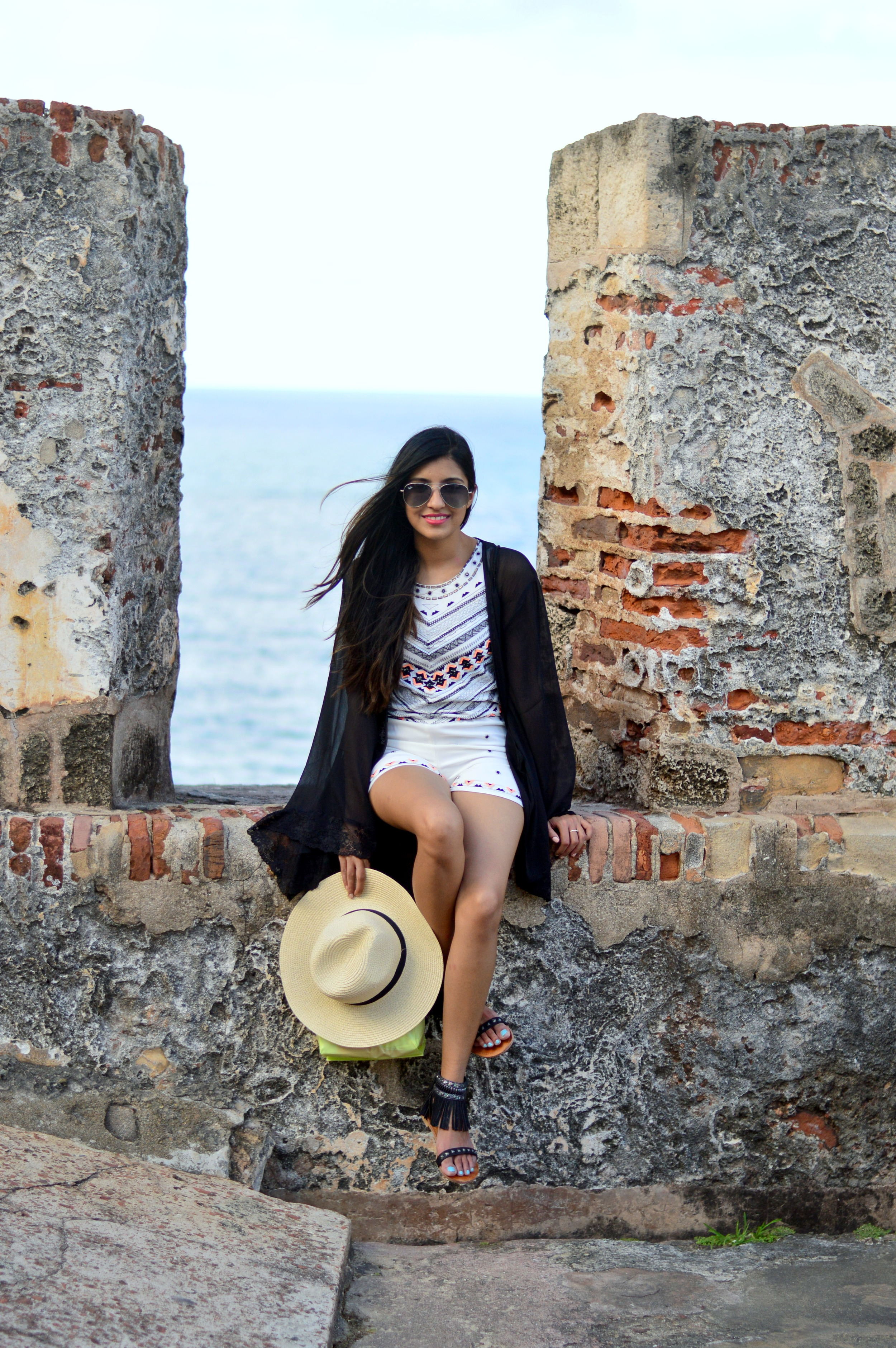 embellished-romper-blogger-vacation-outfit-puerto-rico