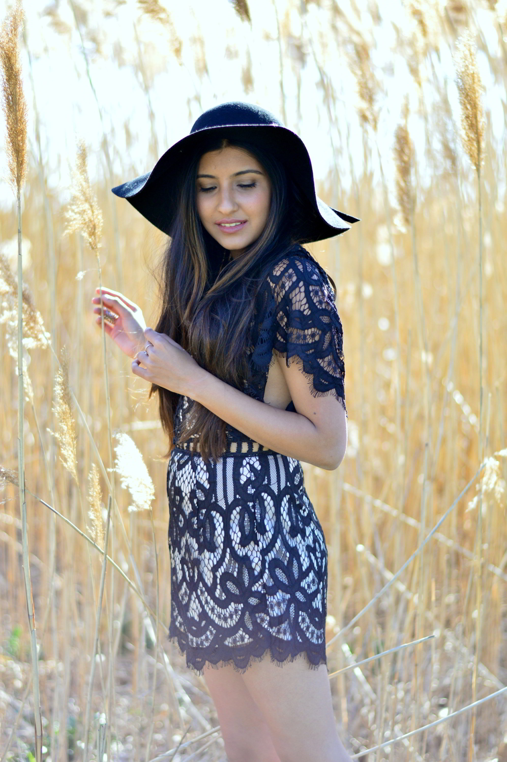 black-lace-romper-boho-gypsy-festival-outfit-blogger-style 6