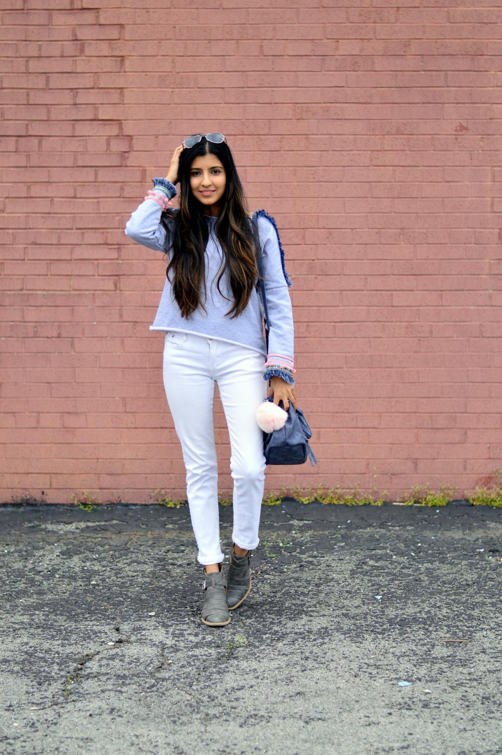 pom-fringe-sweatshirt-causal-basics-blogger-style 3
