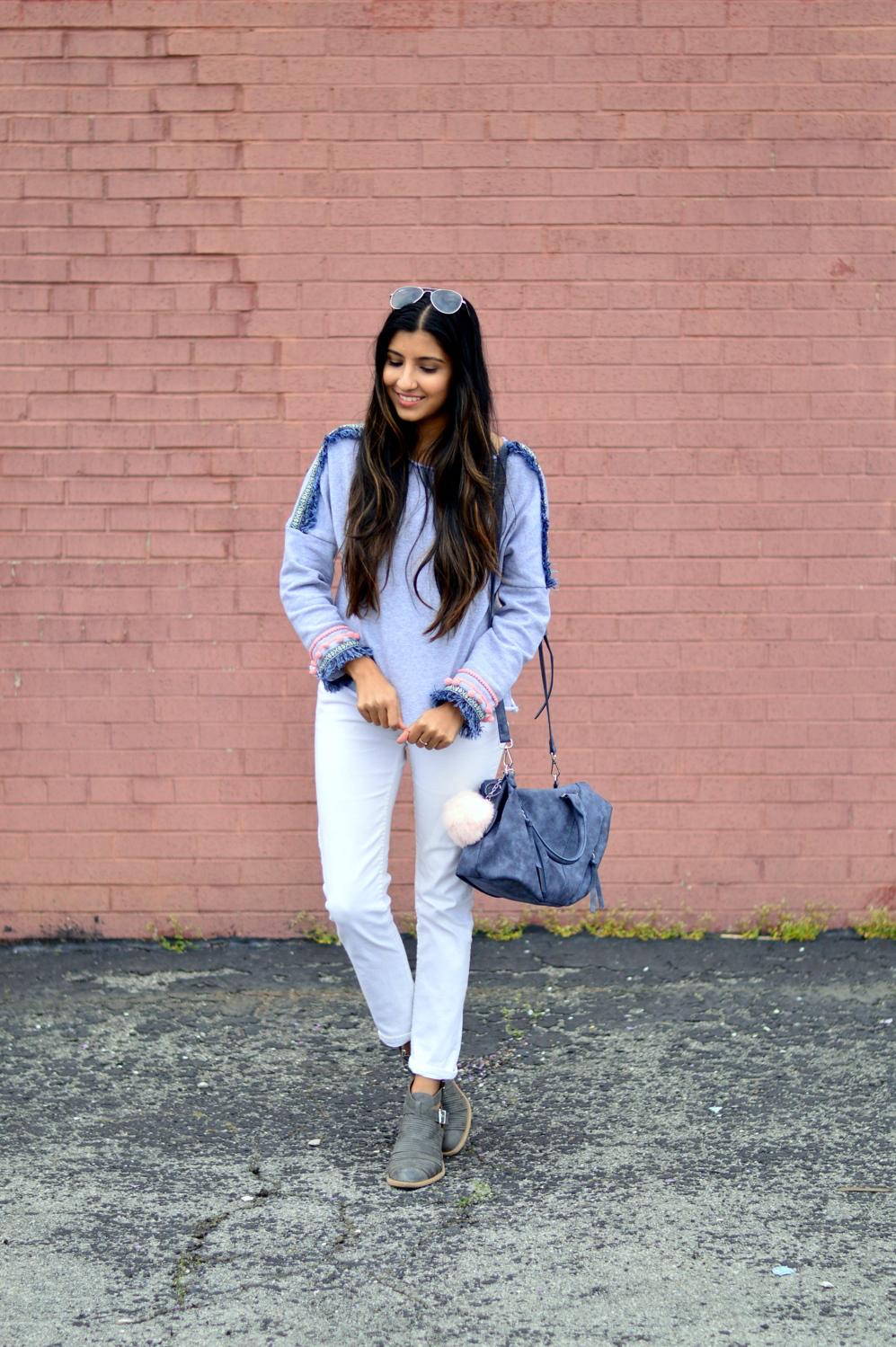 pompoms-fringe-sweatshirt-causal-basics-blogger-outfit