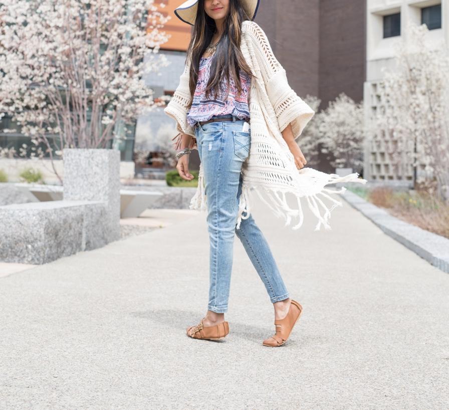 Spring-style-layers-crochet-duster-fringe-cardigan 7