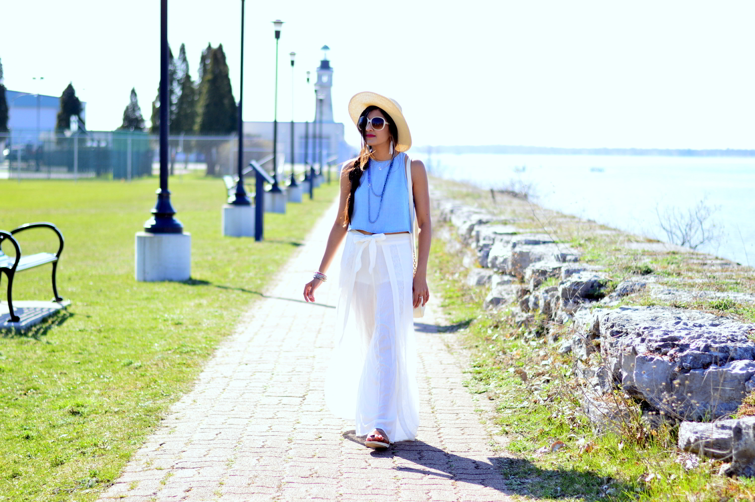 denim-crop-top-wide-leg-pants-summer-style 1