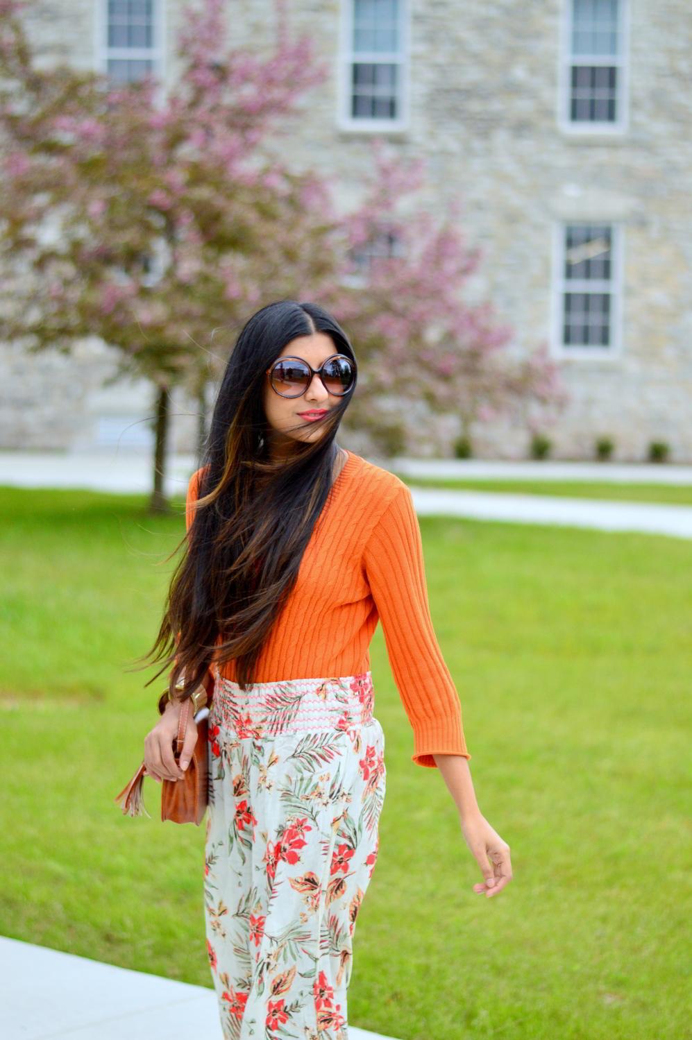 loral-wide-leg-pants-beach-coverup-orange-sweater 2