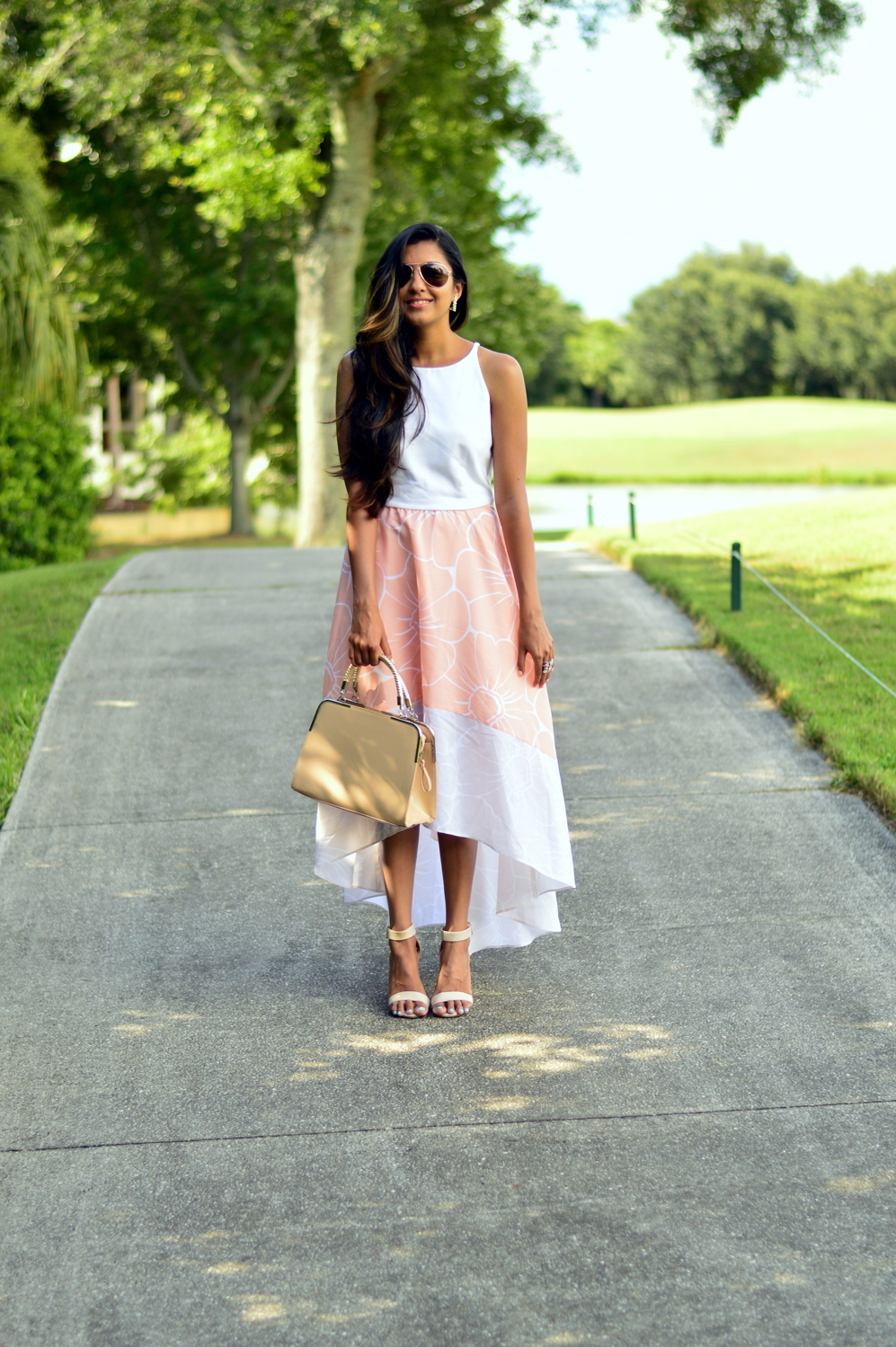 floral-pastel-high-low-dress-summer-blogger-outfit-anthropologie 3