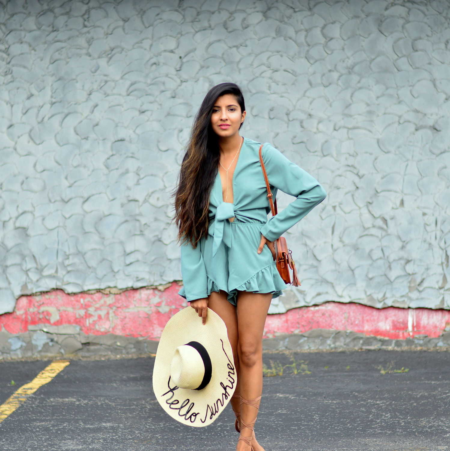 tie-front-romper-playsuit-summer-outfit-blogger-style 7