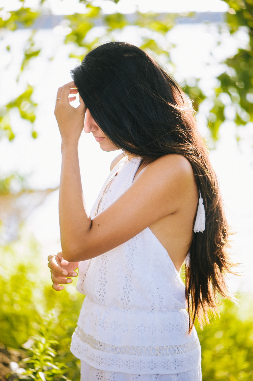 little-white-crochet-romper-late-summer-style-blogger-outfit 8