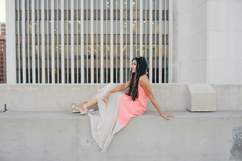 colorblock-maxi-dress-pink-sunset-buffalo-blogger-outfit 10