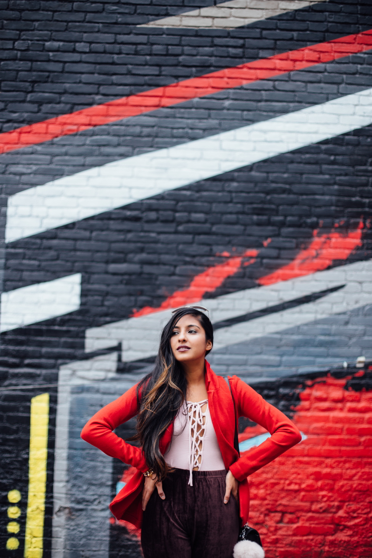 velvet-burgundy-pants-red-holiday-season-style-blogger-outfit-bodysuit-pink 3