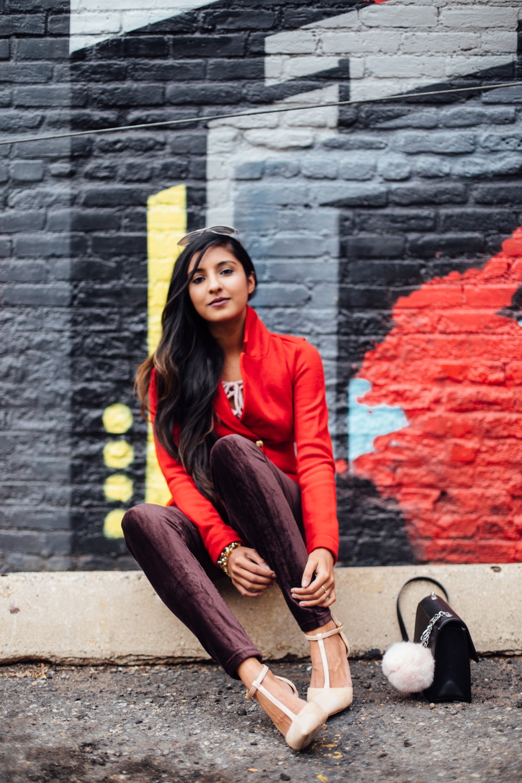 velvet-burgundy-pants-red-holiday-season-style-blogger-outfit-denver-colorado-travel 8