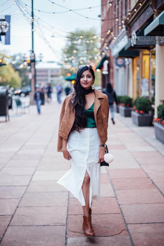 jewel-tones-slip-dress-midi-skirt-winter-white-holiday-style-blogger-outfit 1
