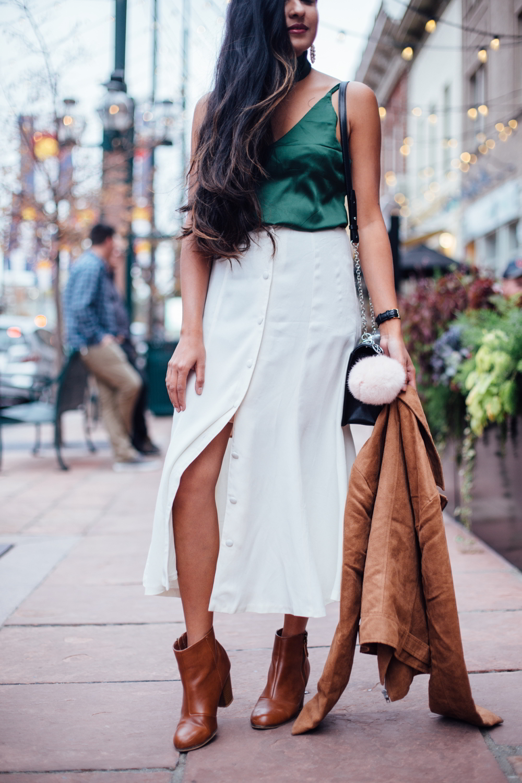 jewel-tones-slip-dress-midi-skirt-winter-white-holiday-style-blogger-outfit 6