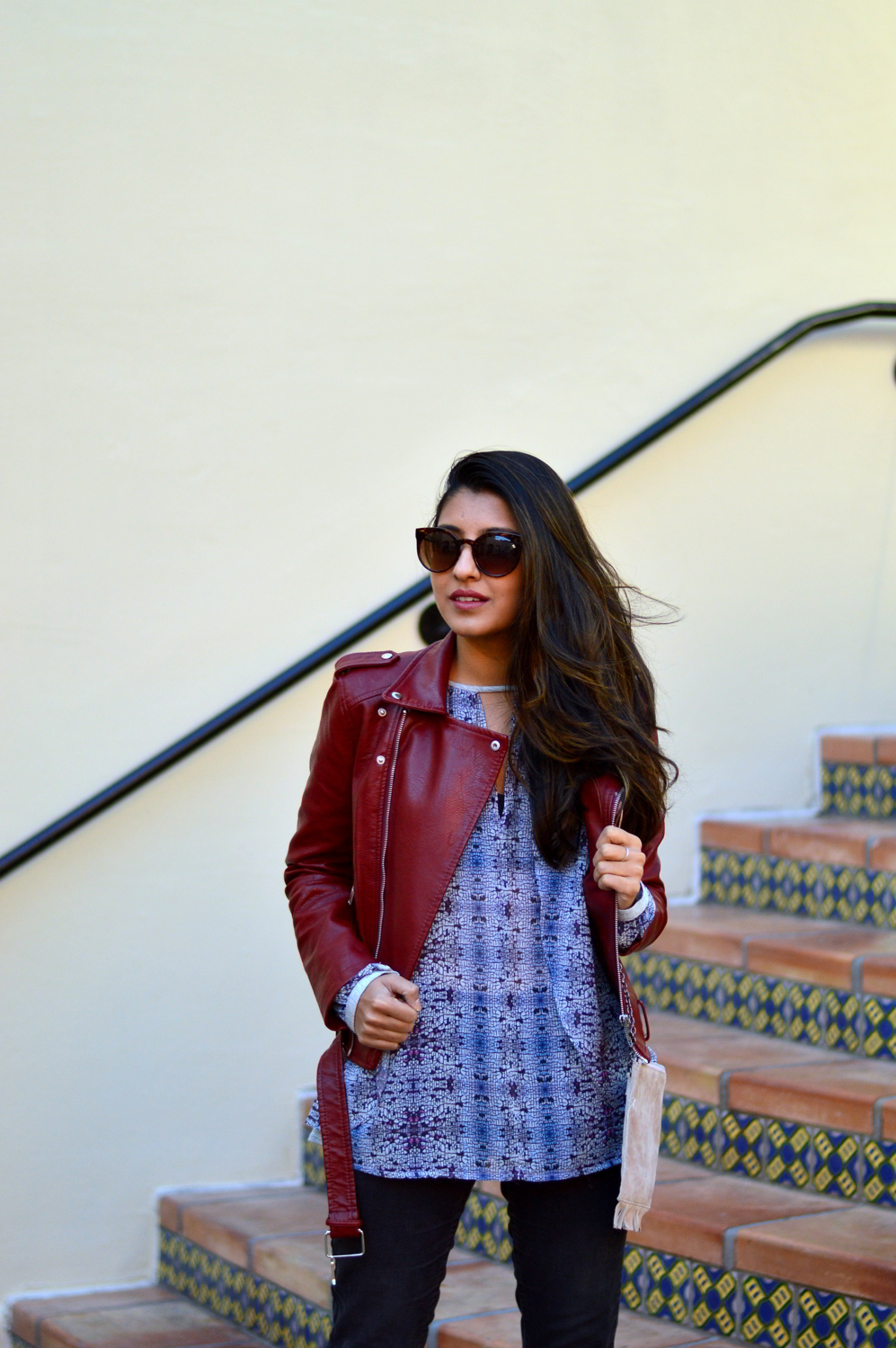 burgundy-leather-jacket-laceup-ankle-boots-casual-layers-winter-style-animal-print 6