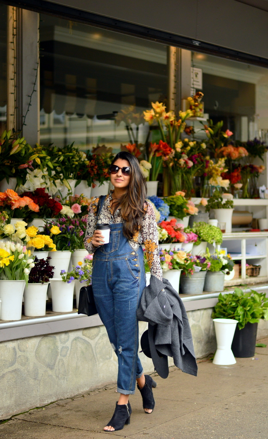 boyfriend-overalls-floral-blouse-spring-style-bud-stop-san-francisco-blogger-outfit 3