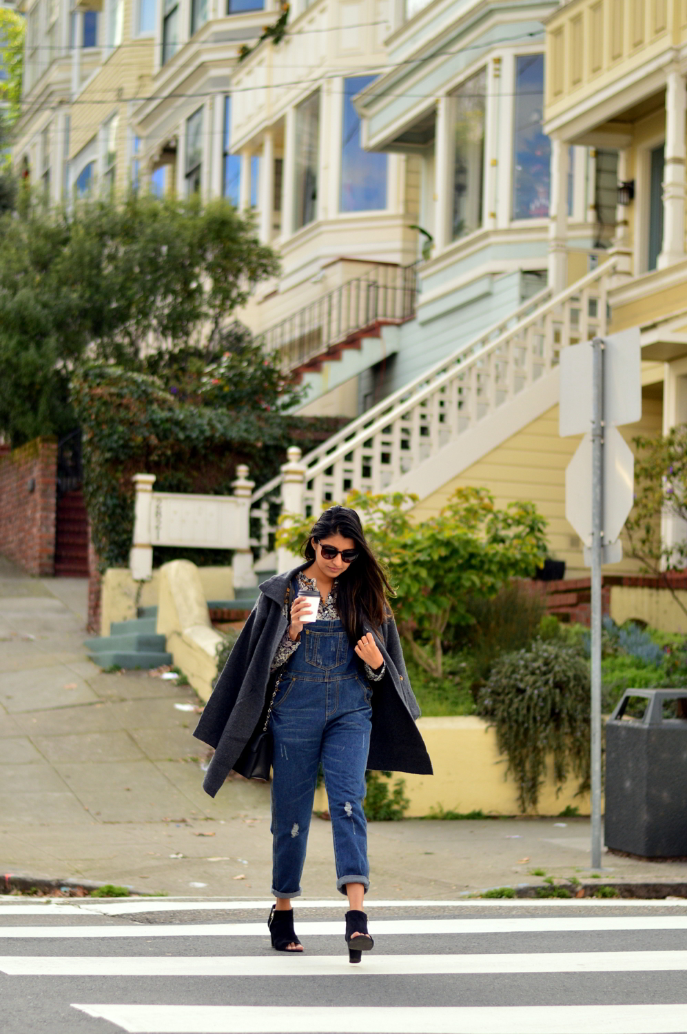 boyfriend-overalls-floral-blouse-spring-style-bud-stop-san-francisco-blogger-outfit 4