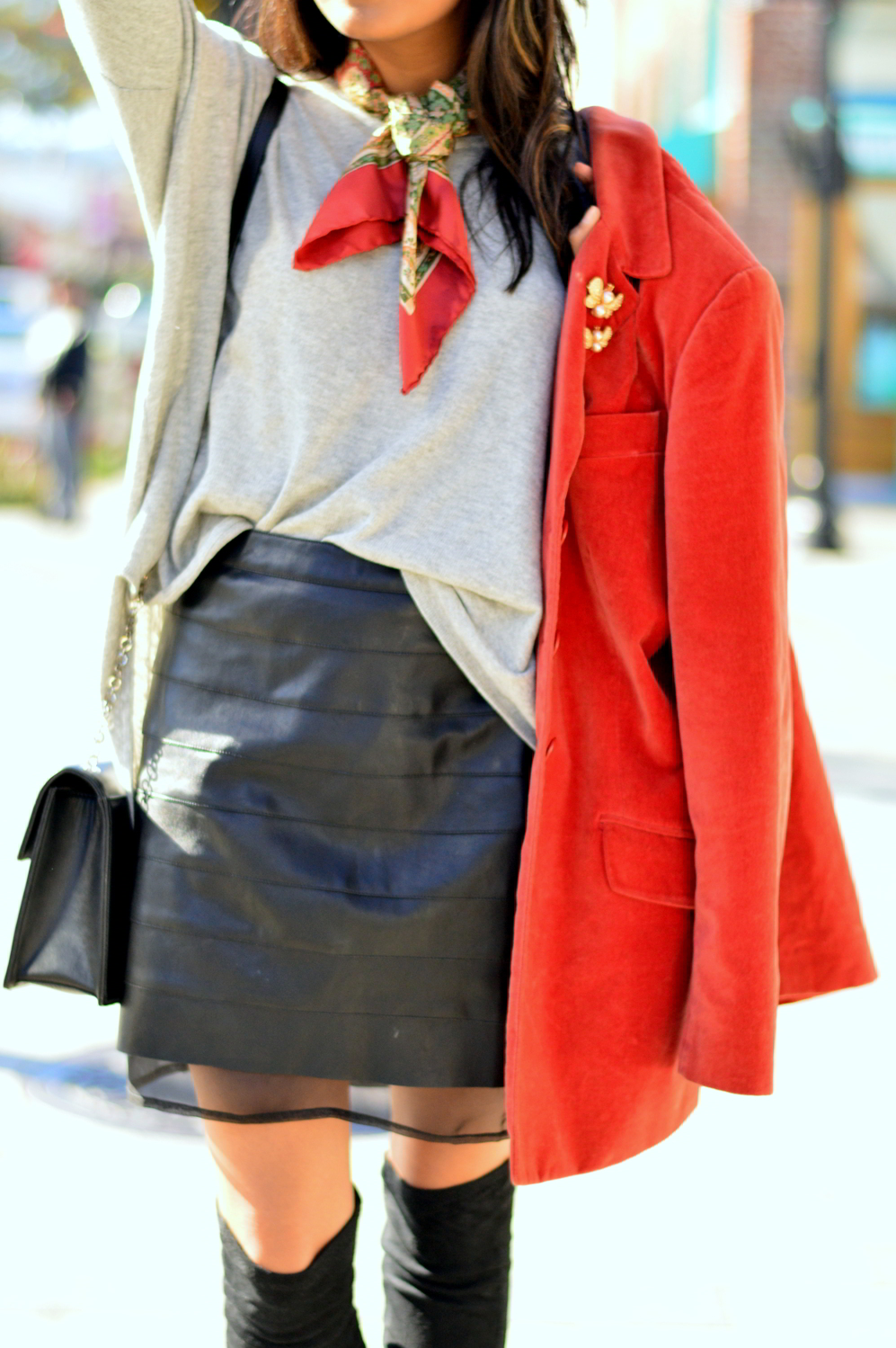 transitional-spring-style-textures-suede-leather-skirt-knits-blogger-style 6