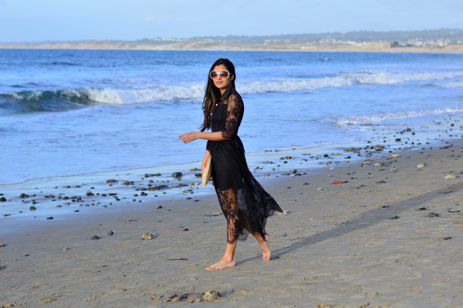 lace-black-maxi-dress-monterey-california-beach-outfit-blogger-style 1
