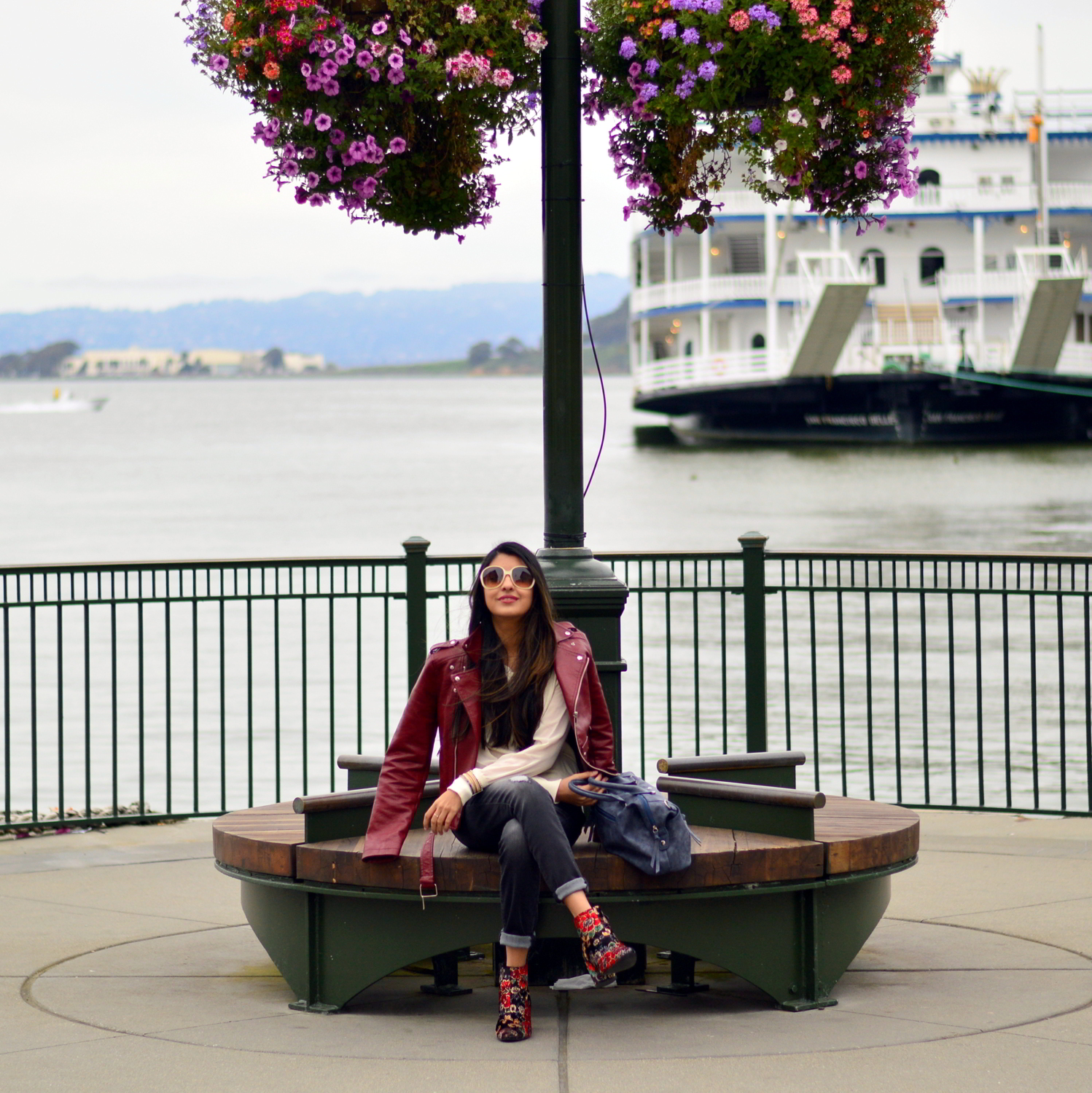 spring-layers-basics-san-francisco-floral-velvet-boots-blogger-travel-style 6