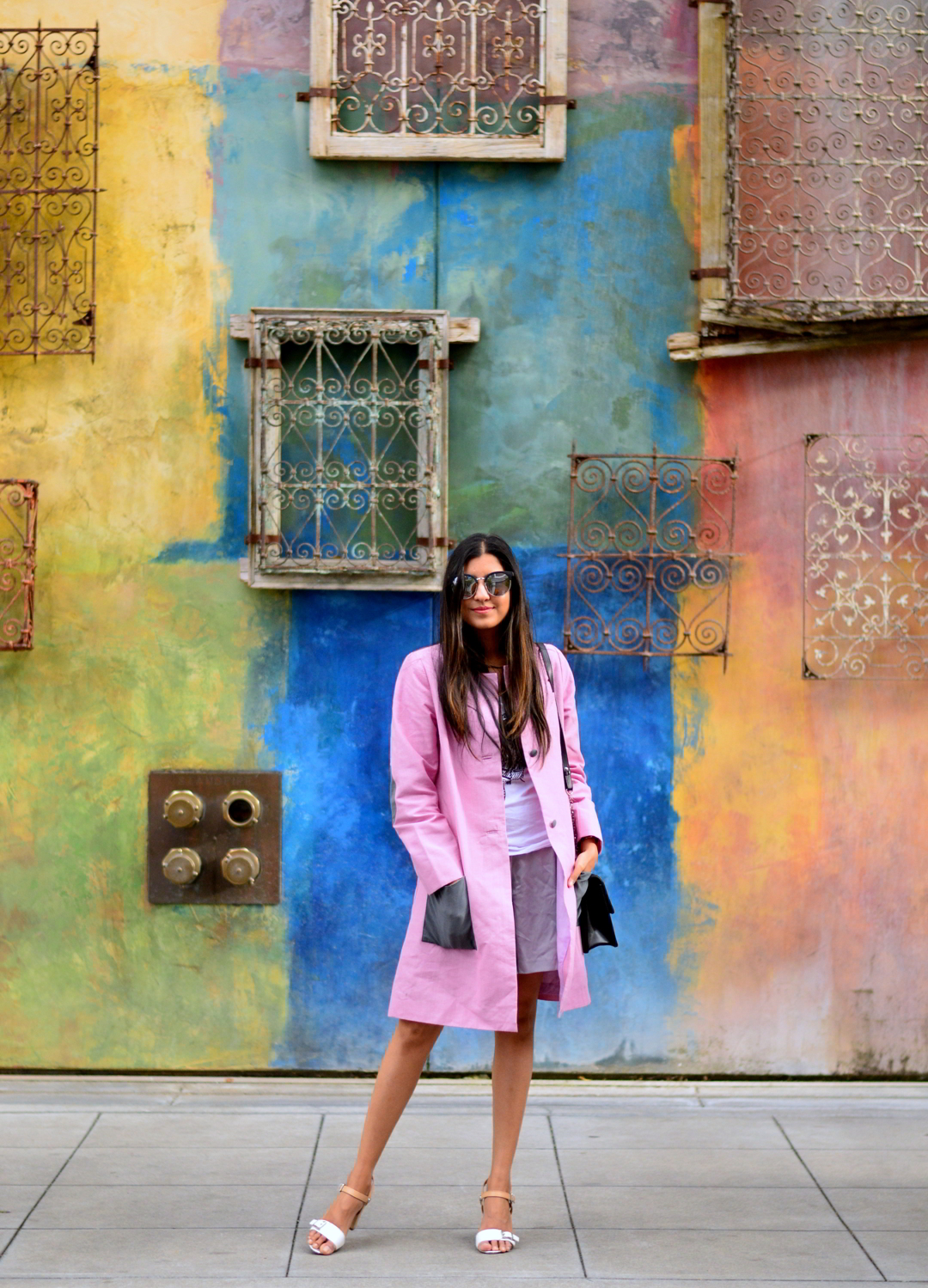 pink-coat-summer-layers-bay-area-style-blogger-outfit 5