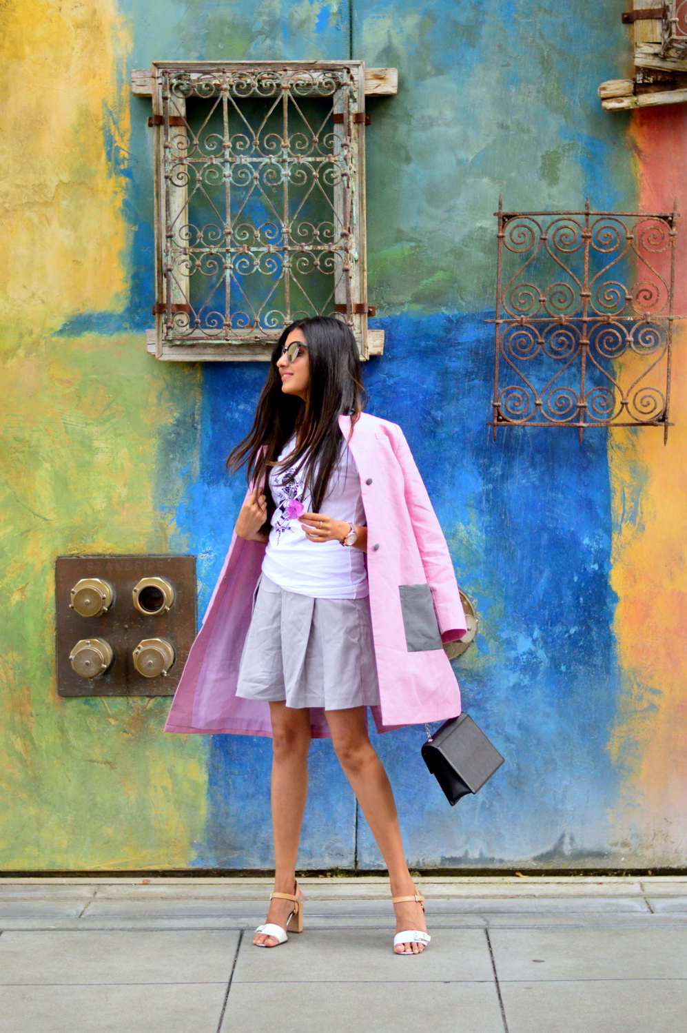 pink-coat-summer-layers-bay-area-style-blogger-outfit 6