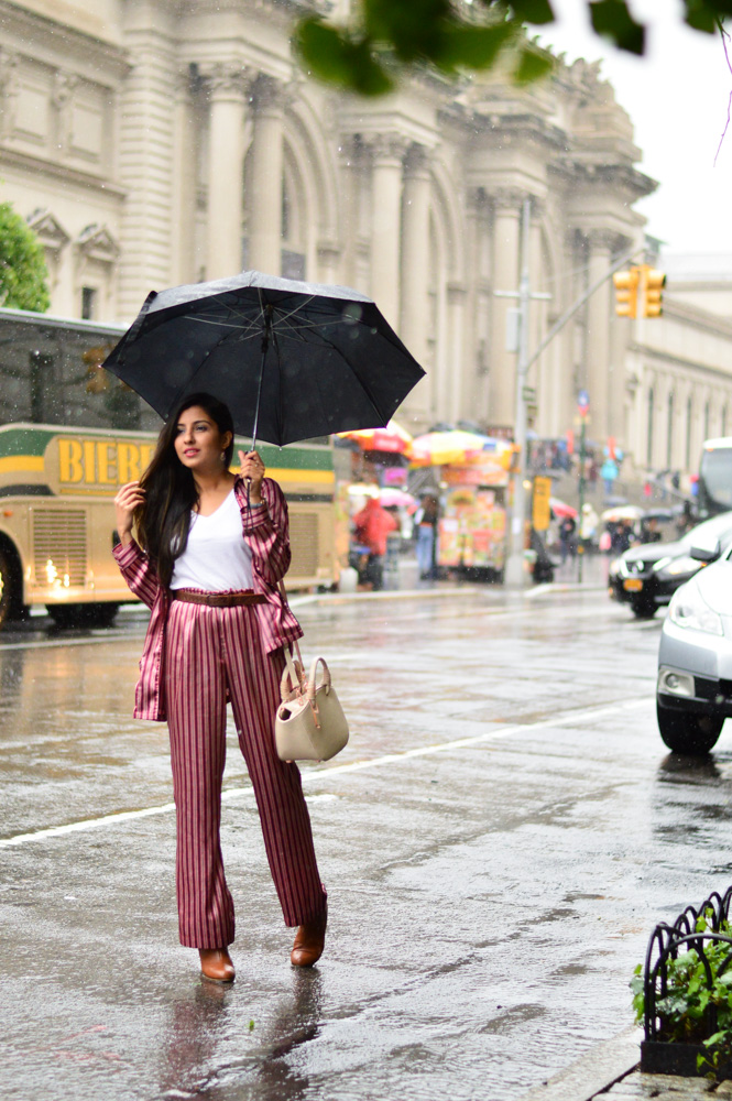 silk Pajama set: old (love  this pair ), tee:  forever 21 , bag:  oliver bilou , boots: alloy apparel (similar  here )