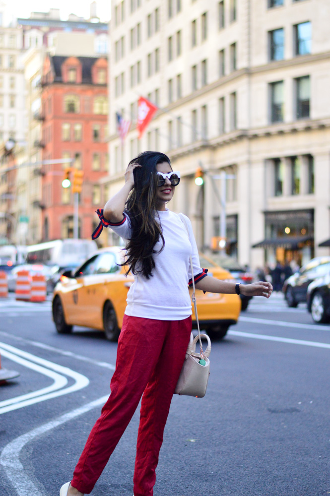 tie-sleeved-white-tee-red-silk-pants-summer-style-nyc-style-blogger-outfit 16