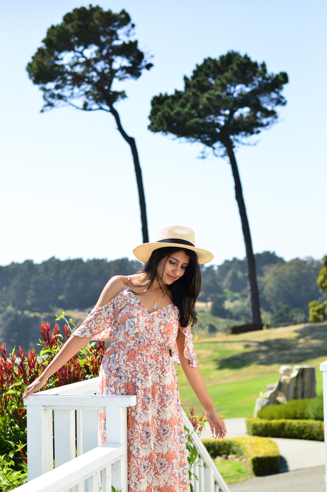 little-river-inn-mendocino-california-travel-blogger-outfit-style-ruffles-summer-florals 3