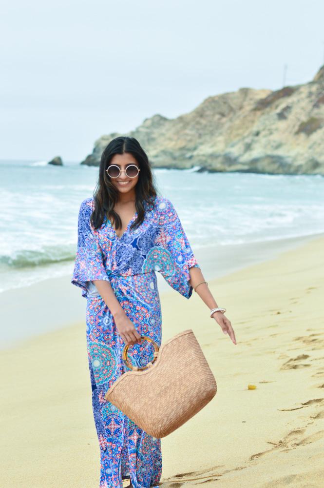 printed-kaftan-dress-beach-resort-vacation-fashion-california-bay-area 2