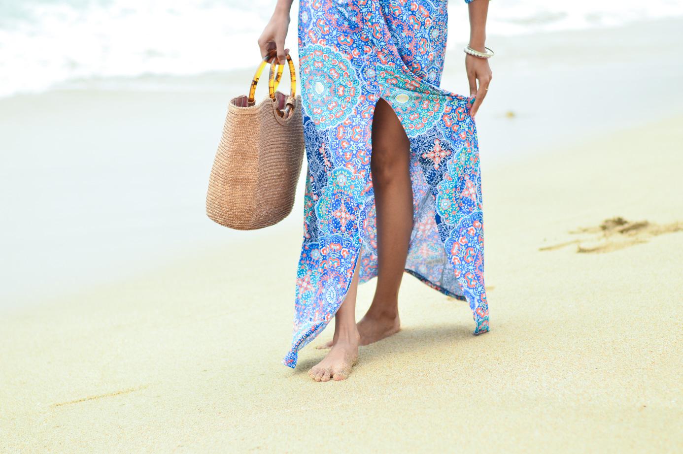 straw-bag-kaftan-dress-beach-resort-vacation-style-california-blogger 4