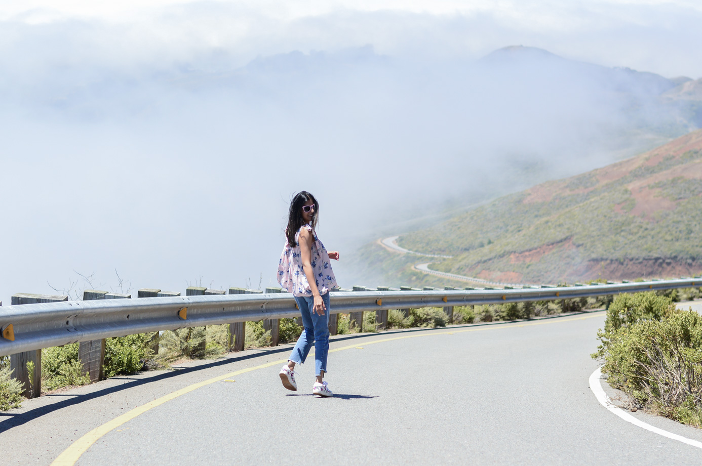 marin-county-summer-day-activities-floral-blouse-california-travel 2