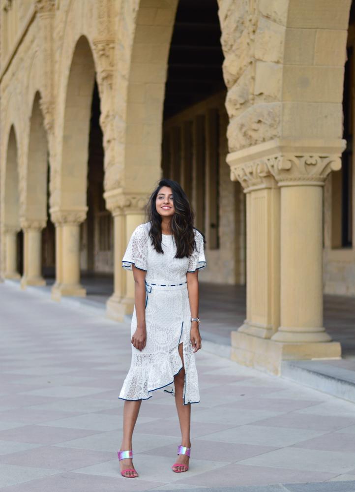 little-white-lace-midi-dress-velvet-mules-summer-fashion-blogger-outfit 3