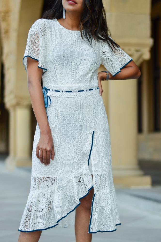 little-white-lace-midi-dress-velvet-mules-summer-style-blogger-outfit 4