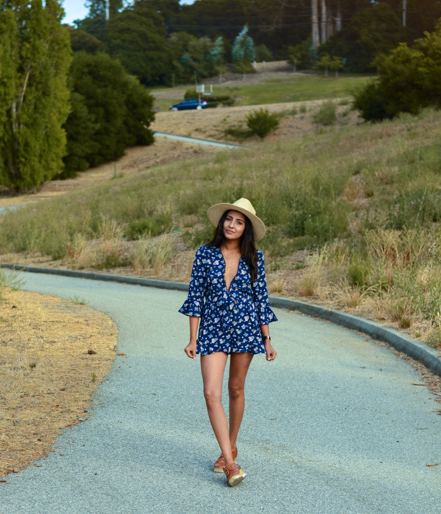 navy-floral-romper-summer-fashion-blogger-outfit-california 3