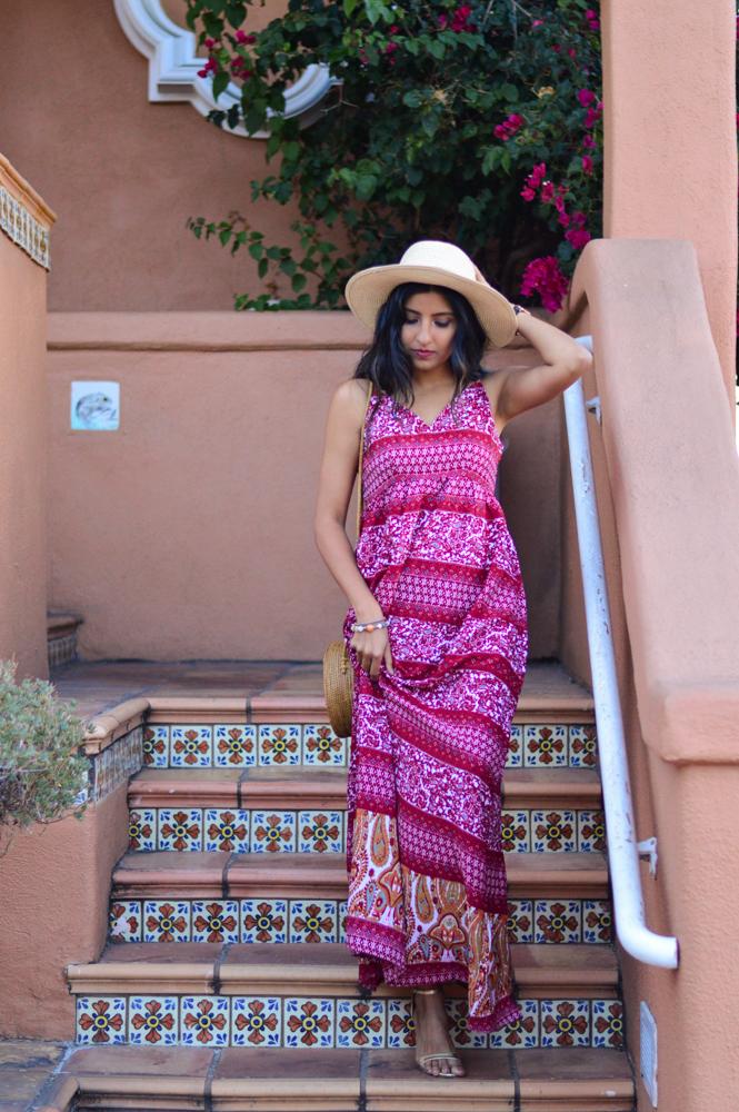 paisley-print-maxi-dress-fall-style-wicker-circle-bag-blogger-outfit 7