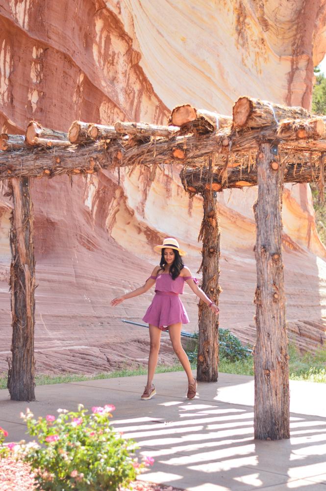 pink-crop-top-shorts-set-bryce-canyon-utah-fashion-blogger 3