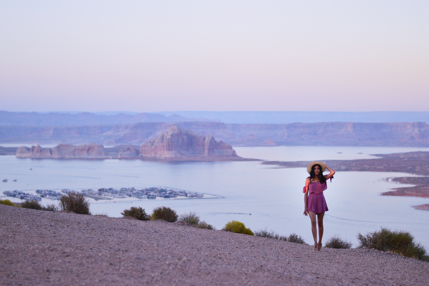 pink-crop-top-shorts-set-bryce-canyon-utah-wahweap-campground-arizona 21