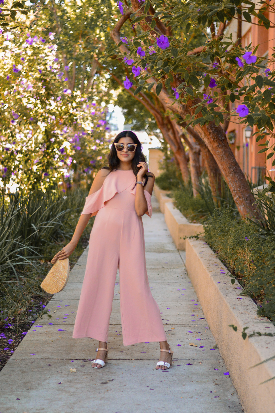 peach-pink-jumpsuit-california-fall-style-blogger 1
