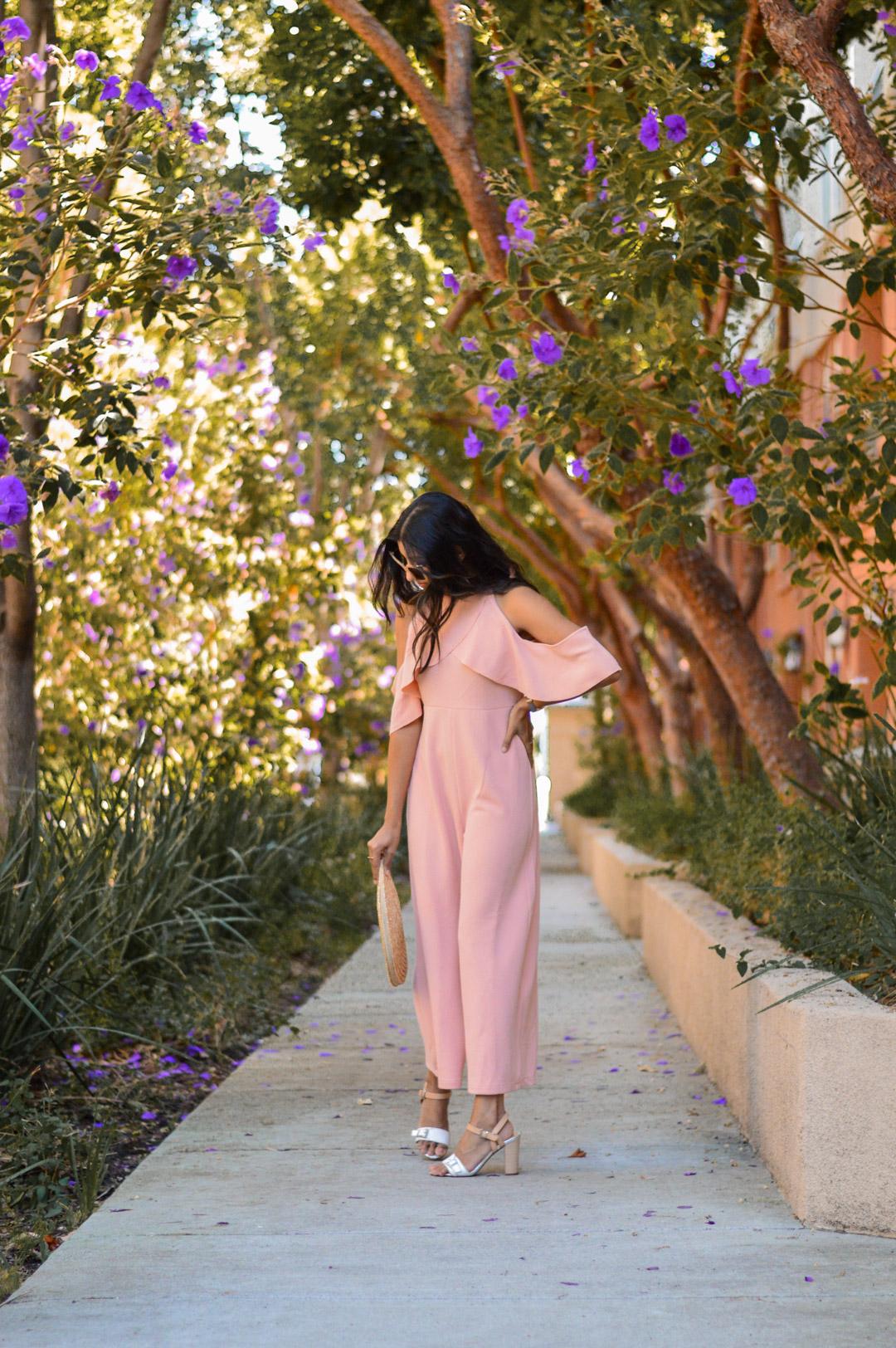 peach-pink-jumpsuit-ruffles-fall-style-pastels 3