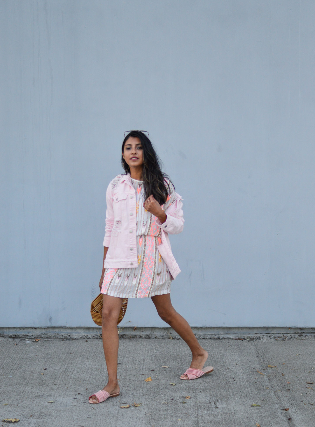 sequin-dress-daytime-pink-NYE-outfit-blogger-style 4