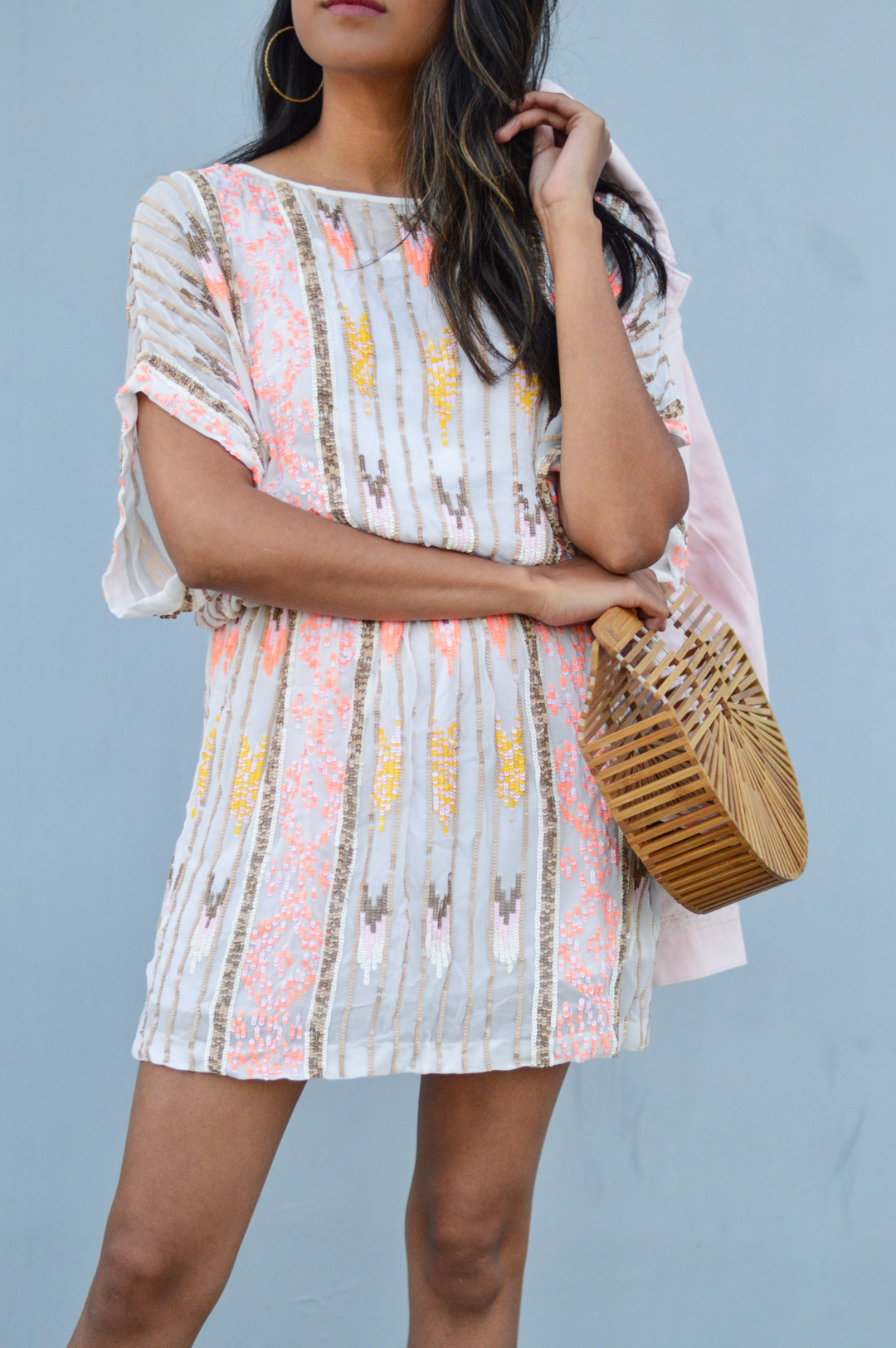 sequin-dress-daytime-pink-NYE-party-blogger-fashion 5