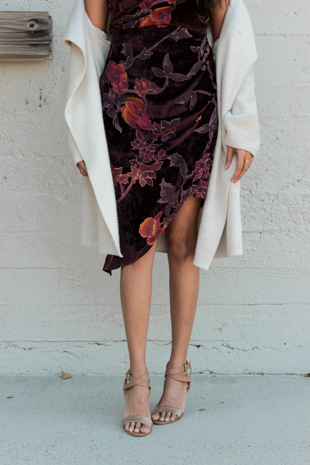 velvet-wrap-floral-dress-nye-party-style-blogger 6